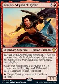 Brallin, Skyshark Rider -