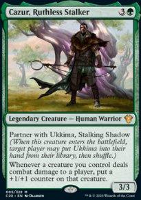 Cazur, Ruthless Stalker - Commander 2020