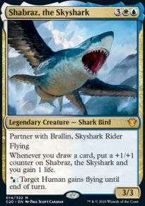 Shabraz, the Skyshark - Commander 2020