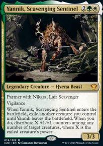 Yannik, Scavenging Sentinel - Commander 2020