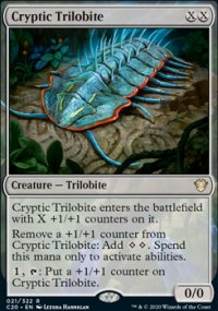 Cryptic Trilobite - Commander 2020