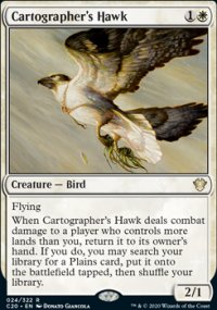Cartographer's Hawk - Commander 2020