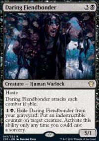 Daring Fiendbonder - Commander 2020