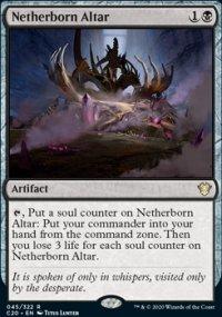 Netherborn Altar - Commander 2020