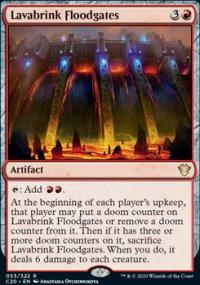 Lavabrink Floodgates -