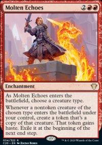 Molten Echoes - Commander 2020
