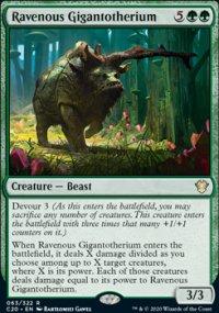 Ravenous Gigantotherium - Commander 2020