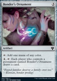 Bonder's Ornament - Commander 2020