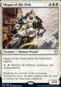 Magus of the Disk - Commander 2020