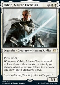 Odric, Master Tactician -