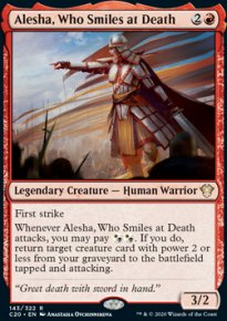 Alesha, Who Smiles at Death -