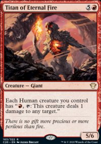 Titan of Eternal Fire -