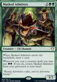 Masked Admirers - Commander 2020