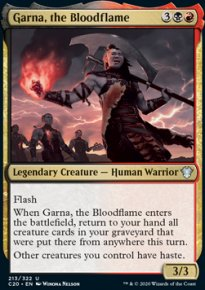 Garna, the Bloodflame -