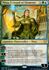 Nissa, Steward of Elements -