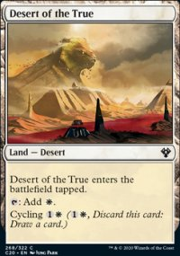 Desert of the True -