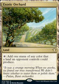 Exotic Orchard - Commander 2020