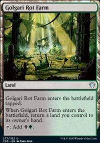 Golgari Rot Farm -
