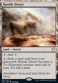 Hostile Desert -