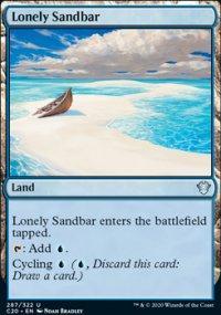 Lonely Sandbar -