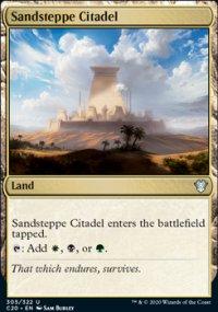 Sandsteppe Citadel -