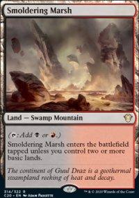 Smoldering Marsh -