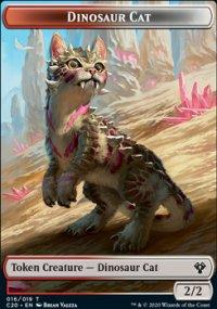 Dinosaur Cat - Commander 2020