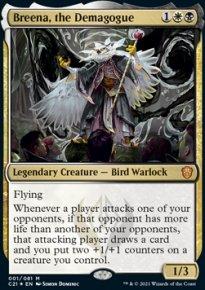 Breena, the Demagogue 1 - Commander 2021