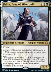 Felisa, Fang of Silverquill 1 - Commander 2021