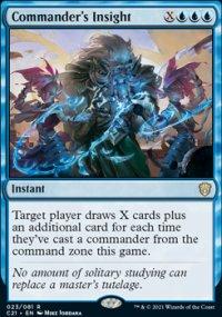 Commander's Insight 1 - Commander 2021