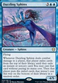Dazzling Sphinx 1 - Commander 2021