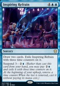 Inspiring Refrain 1 - Commander 2021