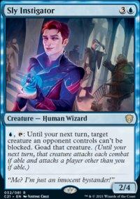 Sly Instigator 1 - Commander 2021