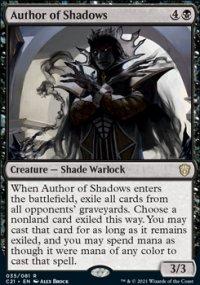 Author of Shadows 1 - Commander 2021