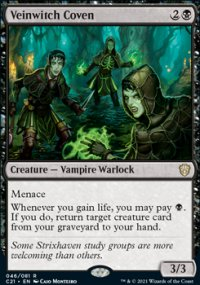 Veinwitch Coven 1 - Commander 2021