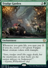 Trudge Garden 1 - Commander 2021