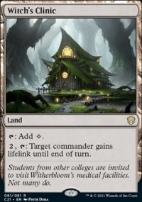 Witch's Clinic 1 - Commander 2021