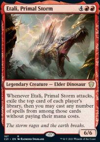 Etali, Primal Storm - Commander 2021