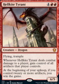 Hellkite Tyrant - Commander 2021