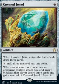 Coveted Jewel - Commander 2021