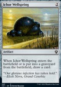 Ichor Wellspring - Commander 2021