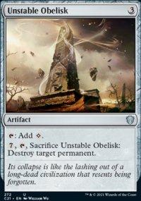 Unstable Obelisk - Commander 2021