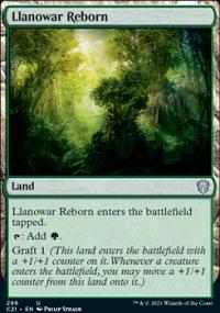 Llanowar Reborn - Commander 2021