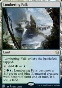 Lumbering Falls - Commander 2021