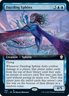 Dazzling Sphinx 2 - Commander 2021