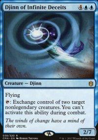Djinn of Infinite Deceits - Commander Anthology