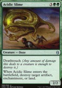 Acidic Slime - Commander Anthology