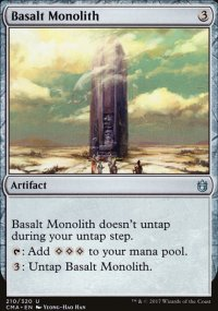 Basalt Monolith - Commander Anthology