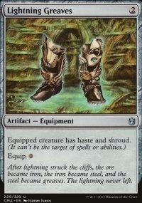 Lightning Greaves - Commander Anthology
