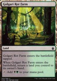 Golgari Rot Farm - Commander Anthology